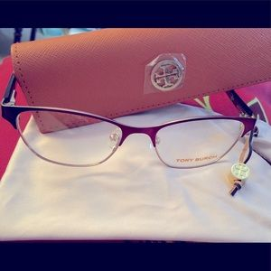 ToryBurch new never used frames, dust pouch&case